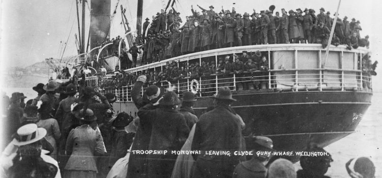 Wellington goes to war, August 1914