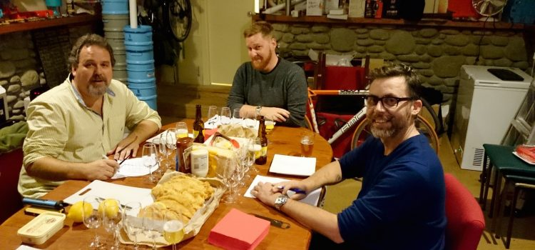 Fish, Chips, Beer: The answer